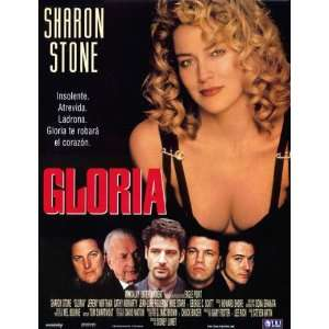 Gloria Poster Spanish 27x40 Sharon Stone Jeremy Northam Cathy Moriarty