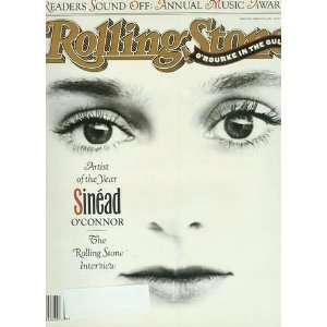 Stone Magazine   Issue 599, March 1991, Sinead OConnor Cover Books