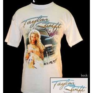 TAYLOR SWIFT T SHIRT   VINTAGE Doubled Sided 1ST TOUR SHIRT   Youth XL