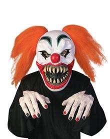 evil clown on Spirit Halloween Costumes