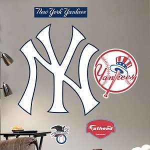 Fathead MLB Team Logo Wall Size Decals   New York Yankees