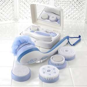 Spin Spa 12 piece Shower and Facial Kit