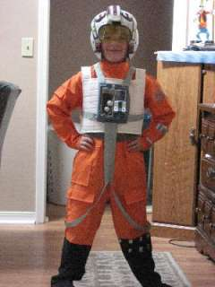 Star Wars Deluxe X Wing Fighter Pilot Child Costume, 60892