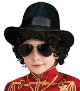 Kids Michael Jackson Fedora   Michael Jackson Costume Accessories