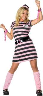 Miss Behaved Teenage Costume   Prisoner Costumes