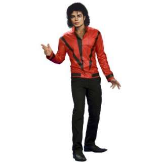 Michael Jackson Red Thriller Jacket Adult, 65799