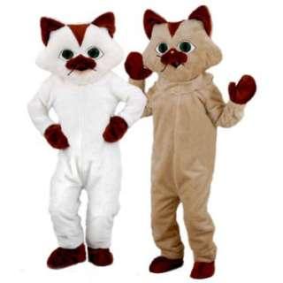 Halloween Costumes Kitty Cat Mascot Adult