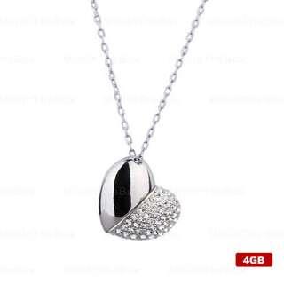 plata 2 gb con forma de corazon u € 12 88 8gb en forma de corazon