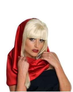 Lady Gaga Red Headscarf Adult Item #9938R