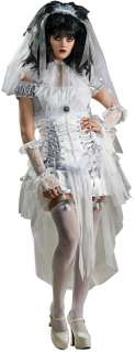 Gothic Mistress Adult Costume  White Gothic Costume