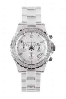 Kors Watches  Clear Chronograph Lucite Watch by Michael Kors Watches
