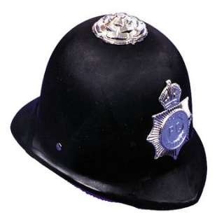 Adult English Bobby Helmet   Police Officer Costume Hats   15GC51