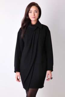 Black Cocoon Coat by Paul Smith Black   Black   Buy Coats Online at my