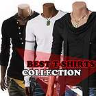 lighter Mens Casual Best Long sleeve T Shirts Tee Collection (009