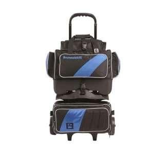 Pro Player 4 Ball Roller Royal / Black Bowling Bag