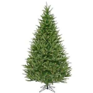 Bavarian Fir 78 Christmas Tree with Clear Lights: Home & Kitchen
