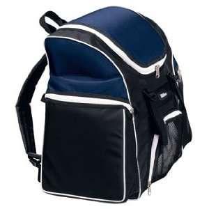 Wilson Premium Volleyball Player s Backpacks BLACK/NAVY 12 L X 9 W X