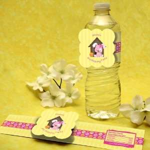 Girl Puppy Dog Birthday Party Water Bottle Labels Toys & Games