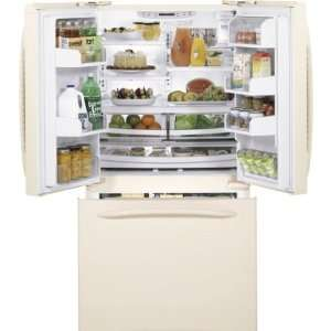 GE Profile PFSF5NFY Energy Star 25.1 Cu. Ft. French Door Refrigerator