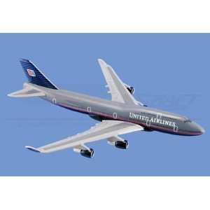 Mini Boeing 747 400, United Airlines Aircraft Model