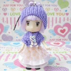 new lovely toy doll ddung doll cute doll mobile chain key