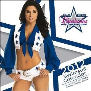 Dallas Cowboy Cheerleaders 2012 Wall Calendar