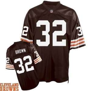 Cleveland Browns Jersey 32 jim browns Authentic Football browns