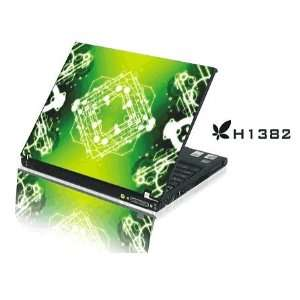 15.4 Laptop Notebook Skins Sticker Cover H1382 Emerald