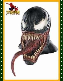 Adults Spiderman 3 Venom Latex Full Mask  Clothing