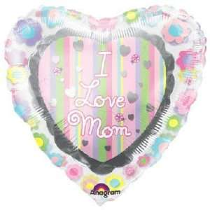 Mothers Day Balloons   32 Love Mom Inliner Toys & Games