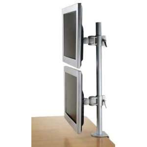 LCD 196A Vertical Dual LCD Monitor Desk Mount Stand: Office Products