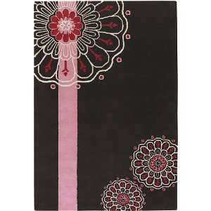 Dharma Hand Tufted Contemporary Rectangular 79 X 106 Rug
