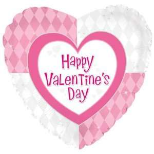 18 Valentines Day Pink & White Diamonds Toys & Games