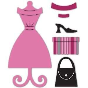 Sizzix Originals Die  Dress & Accesories Large Arts