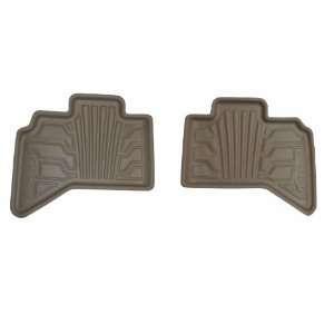 383003 T Catch It Tan Vinyl Rear Seat Floor Mat for Dodge Ram Quad Cab