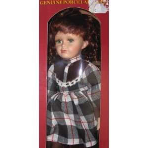 Genuine porcelain Doll Toys & Games