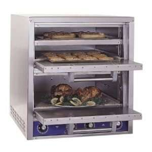 Bakers Pride P46S Double Deck Electric Pizza Deck Oven  208/220 240