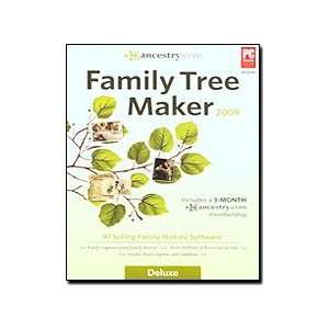 Com Family Tree Maker 2009 Deluxe OLD VERSION