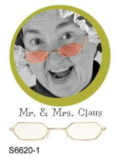 Mr. & Mrs. Santa Claus Glasses Clothing