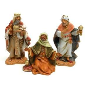Three Kings Navitity Figurines Set of 3