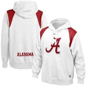Nike Alabama Crimson Tide White Hands To Face Hoody