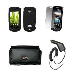 Screen Protector + Car Charger (CLA) for Samsung Gem I100 Electronics