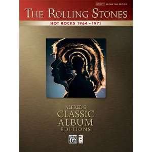 Alfred Rolling Stones   Hot Rocks Guitar Tab Book Musical Instruments