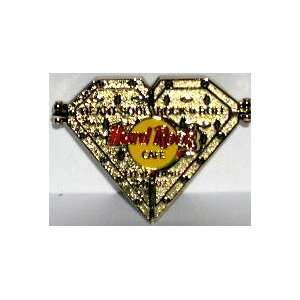 Hard Rock Cafe Pin # 13137, 2002 Cleveland Pin Collecting Event, Heart
