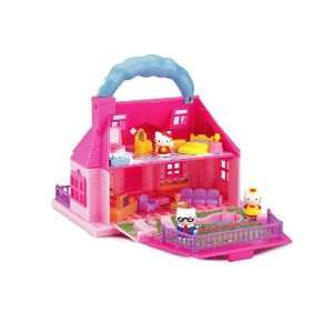 Hello Kitty Carry Along Mini Doll House Toys & Games