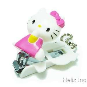 Hello Kitty Figure Portable Nail Clipper