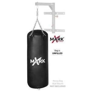 XMark Unfilled Black High Performance Vinyl Heavy Bag 50