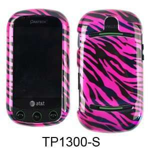 Hot Pink Zebra Faceplate Hard Cover Case For AT&T Pantech