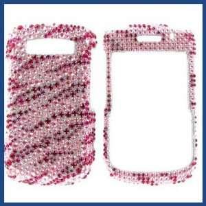 Diamond Hot Pink Zebra Protective Case Easy Installation Electronics