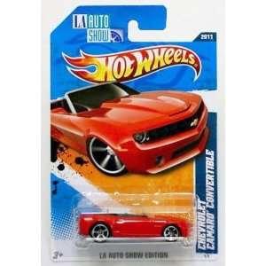 Hot Wheels Chevrolet Camaro Convertible   Los Angeles Auto Show